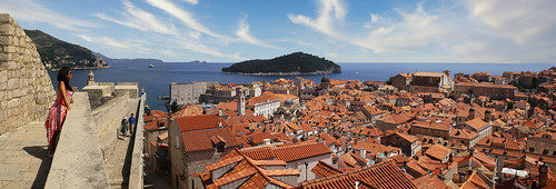 The sense of awe never fails when you set eyes on the old town of Dubrovnik