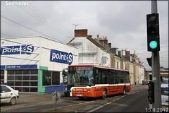 Irisbus Citélis  12 – Setram (Société d'Économie Mixte des TRansports en commun de l'Agglomération Mancelle) n°136
