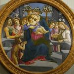 Vierge à l'Enfant avec des anges, Sandro Botticelli, Galerie Borghese, Rome, 2020 - https://www.flickr.com/people/29248605@N07/