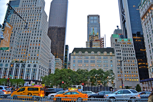 View from Grand Army Plaza 5th Ave E59 St near Central Park Manhattan New York City NY P00704 DSC_0273