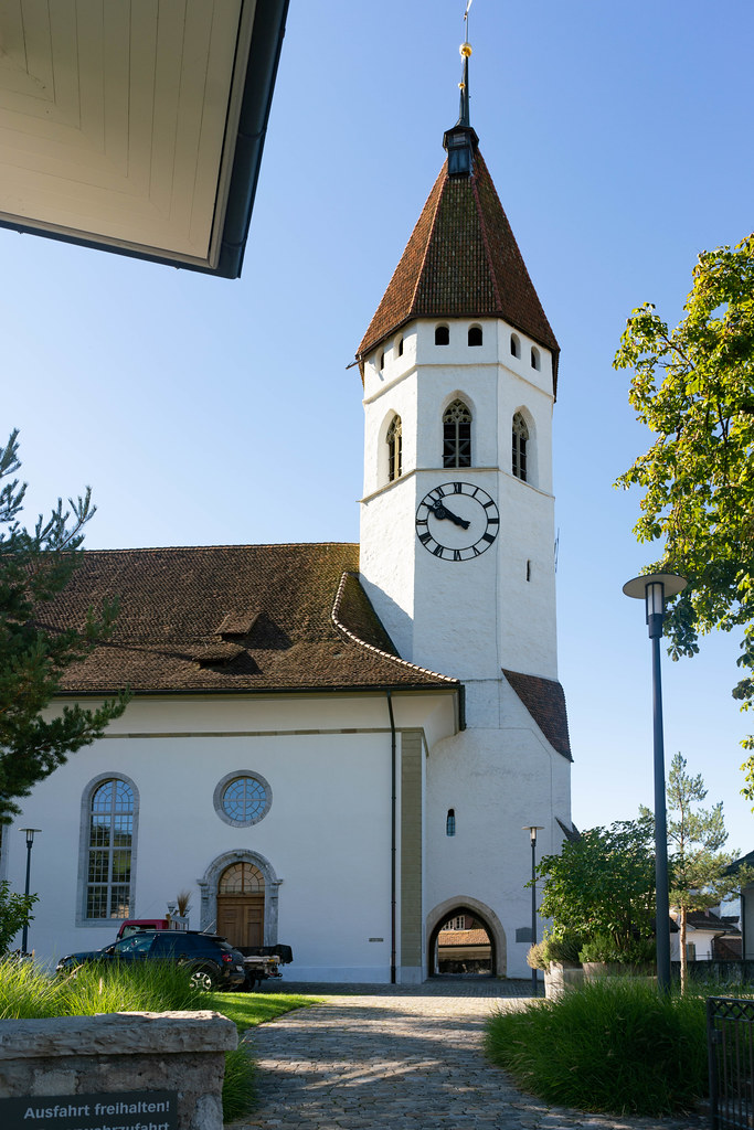 The central church of Thun
