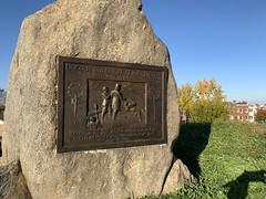 Marker at Fort Stevens
