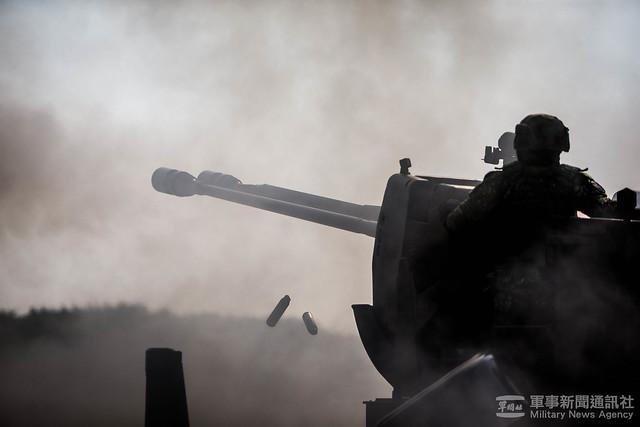 空軍防空暨飛彈指揮部109年天龍操演射擊競賽20201021