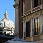 Piazza Campo dé Fiori:  Palazzo Orsini e cupola di S.Andrea della Valle - https://www.flickr.com/people/82911286@N03/