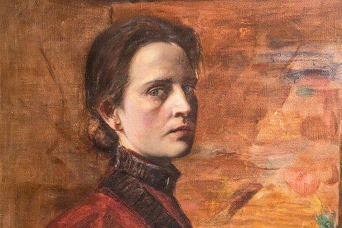 No smiling: 19th Century self portraits were serious business