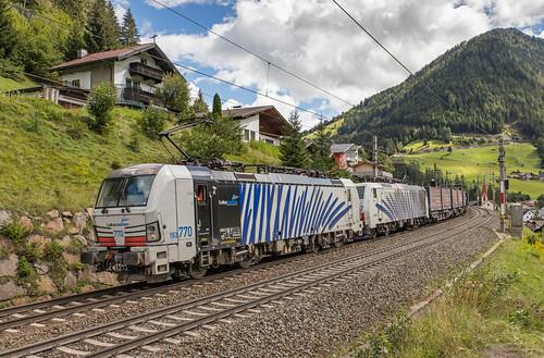 Lokomotion (193) 770 en (189) 907. St. Jodok am Brenner