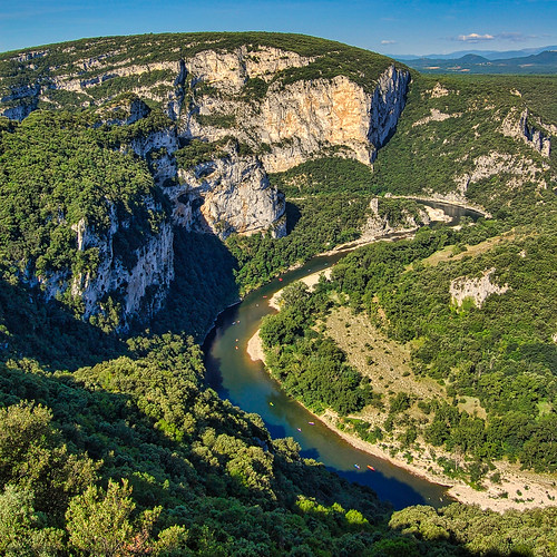 Ardèche-Tal / Valley of Ardèche ( Provence, Frankreich)