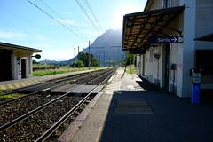 Train tracks @ Gare de Frontenex