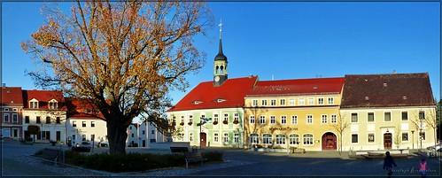 Marktplatz zu Elstra