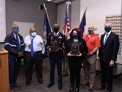 MTA Honors Employees Who Served in Armed Forces