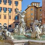 Fountain of Neptune, Rome - https://www.flickr.com/people/74012092@N00/