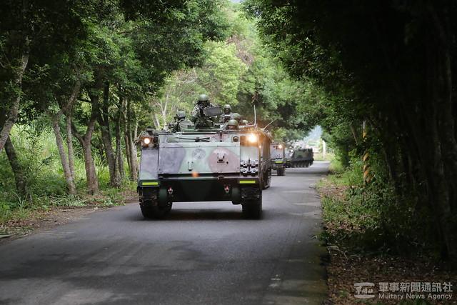 戰備任務訓練週花防部結合民物力強化戰力防護20201028