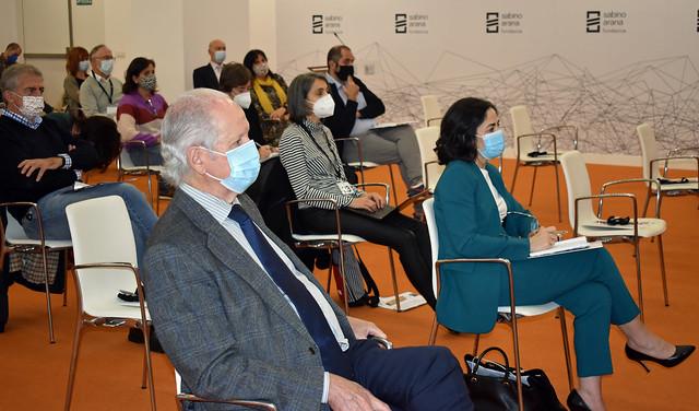 Photo:Juan Mª Atutxa, Irune Zuluaga, Alberto Ruiz de Azua, Aitor Arbaiza, José Mª Etxebarria By sabinoaranafundazioa