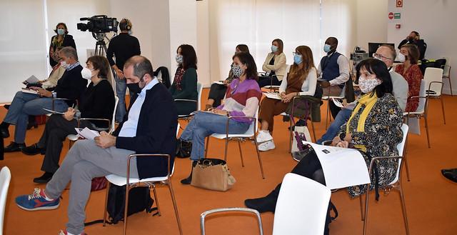 Photo:Ane Irazola, Aitor Arbaiza, Janire Bilbao, Sofía Marroquín, Sonia Aparicio, Paulo Méndez, José María Etxebarria By sabinoaranafundazioa