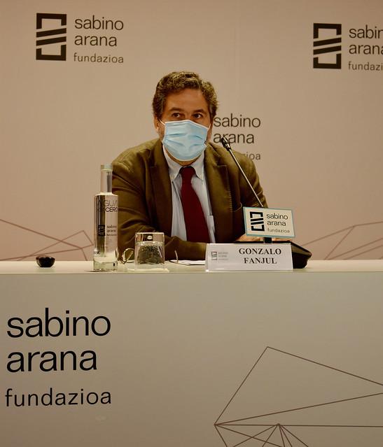 Photo:Gonzalo Fanjul, director de Análisis de Políticas, ISGlobal By sabinoaranafundazioa