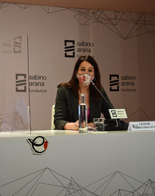 Photo:Leizuri Arrizabalaga, parlamentaria vasca By sabinoaranafundazioa