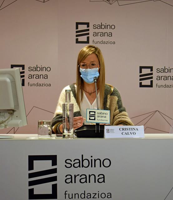 Photo:Cristina Calvo, enfermera de quirófano del hospital de Basurto By sabinoaranafundazioa