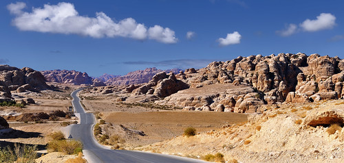 The Road to Petra - Jordan.