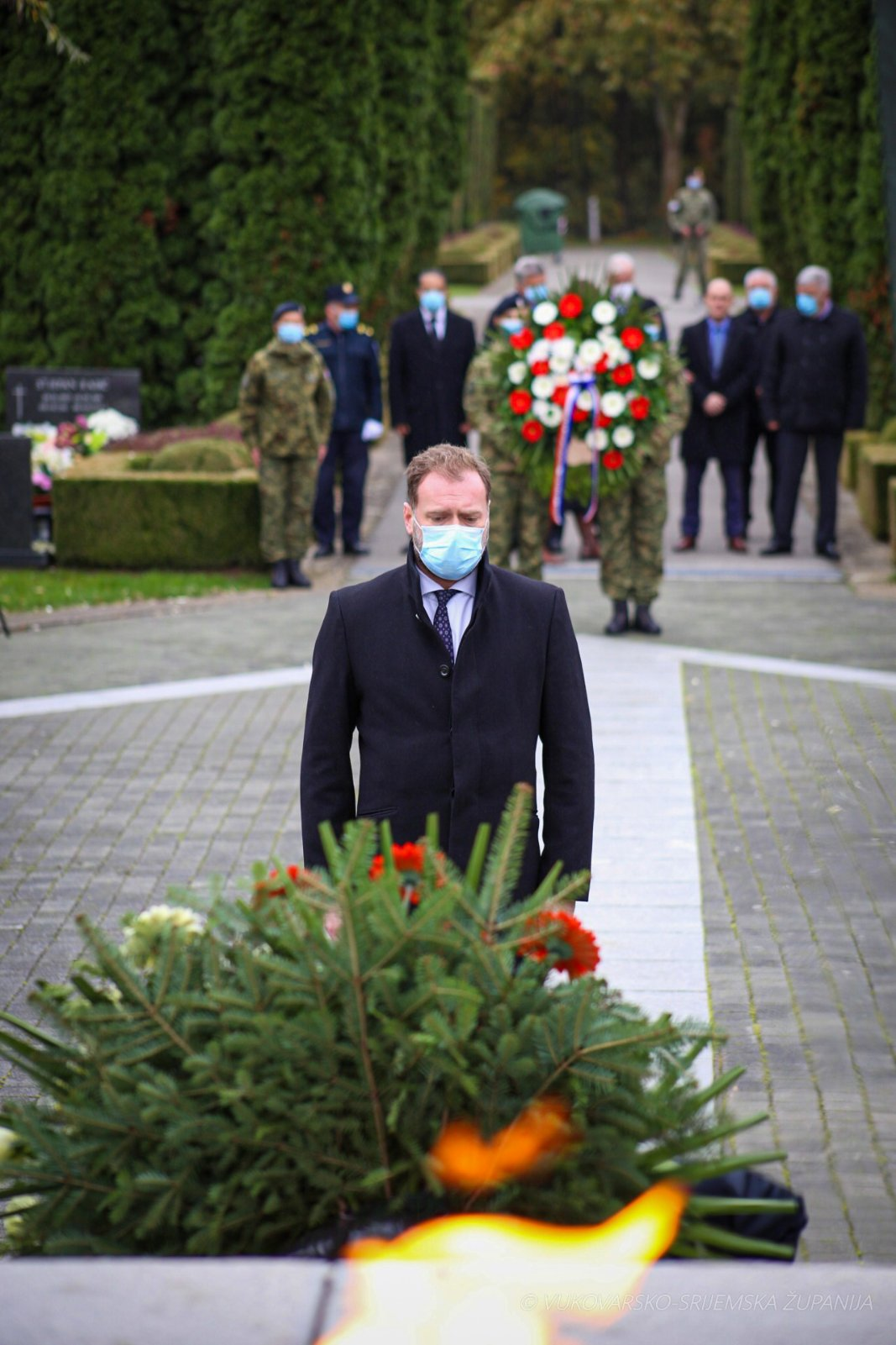Ministar Banožić na obilježavanju Dana Vukovarsko-srijemske županije