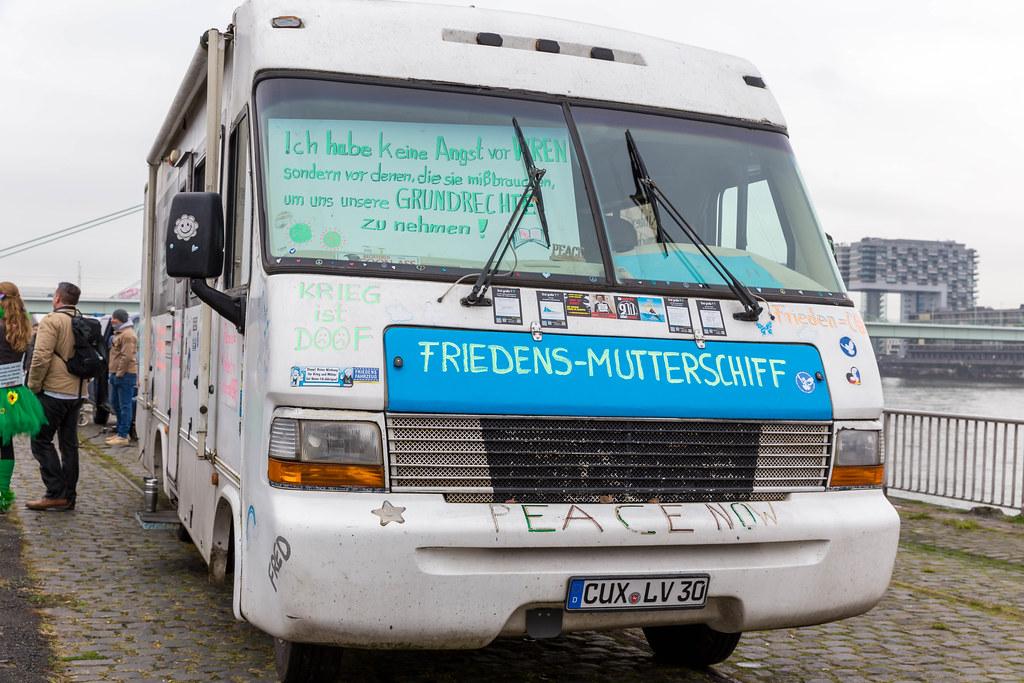 Anti-Corona Demo in Köln: