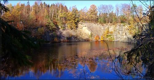 Granitsteinbruch am Burgstall bei Elstra