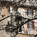 Piazza della Chiesa Nuova:  Monumento a Metastasio - https://www.flickr.com/people/82911286@N03/