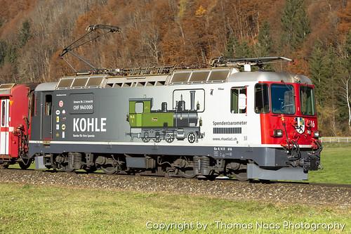 Rhätische Bahn (RhB), 616 : Spendenlok