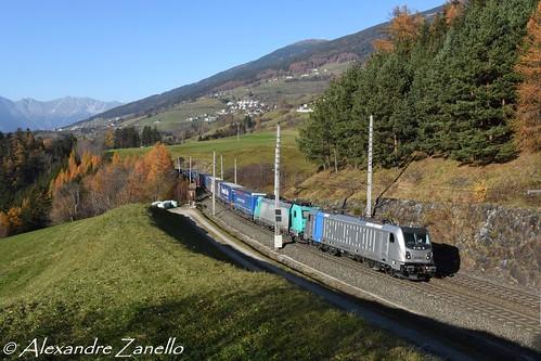BR 187 348 & BR 185 576, Mühlbachl (A)