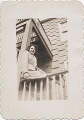 On the porch, Bronx, NY