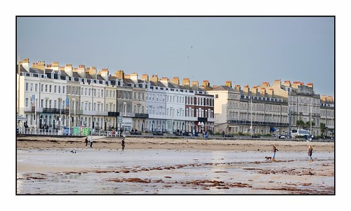 Weymouth Seafront in the Afternoon Light …