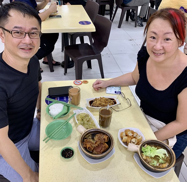 Lunch with Chee Meng after 18 months' lapse