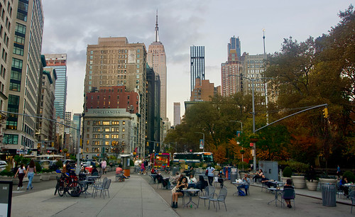 Fall Afternoon in Midtown Manhattan - New York City