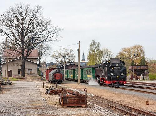 Sleepy Radeburg Station