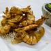 Egg yolk coated fried shrimp