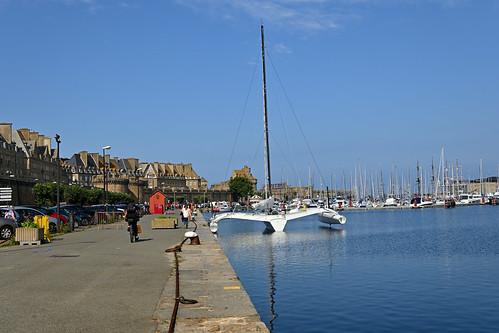 Saint-Malo / Bretagne /  Catamatan - Bassin Vauban