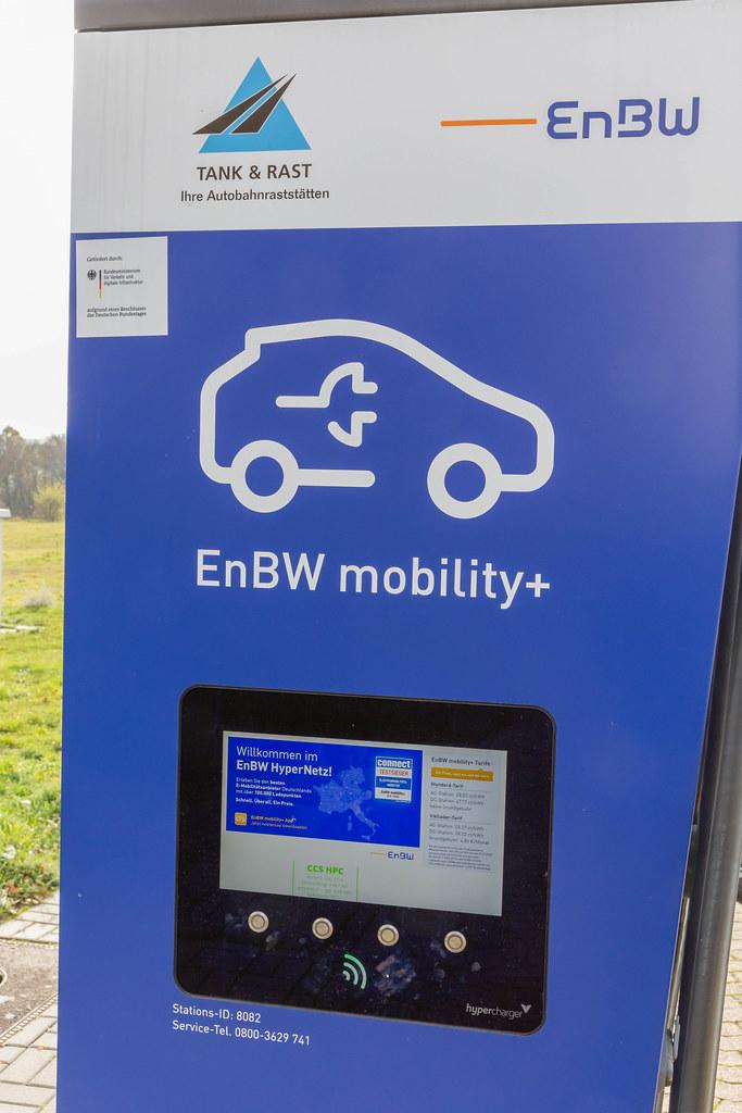 Energie Baden-Württemberg AG EnBW mobility+ Elektro-Ladestation für Elektroautos
