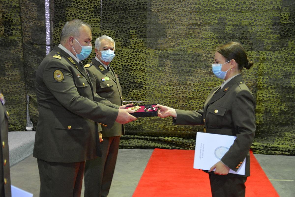 Na HVU promovirani časnici zdravstvene službe