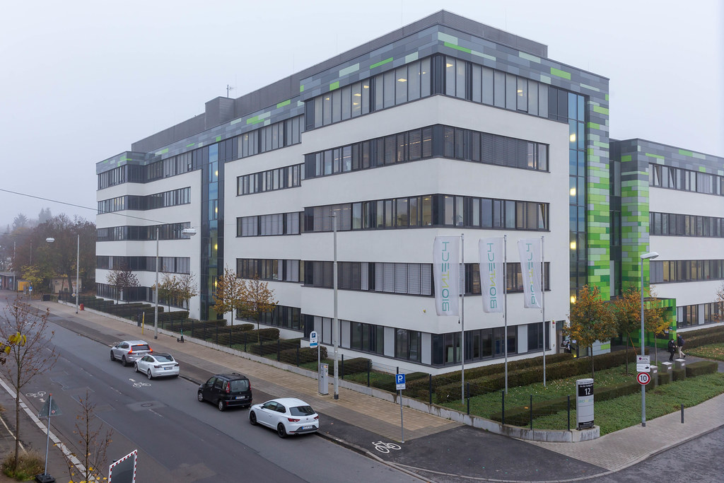 Headquarters of Biotechnology Company BioNTech with Office and Laboratory Buildings in Mainz, Germany