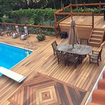 DuraLife Decking in Golden Teak