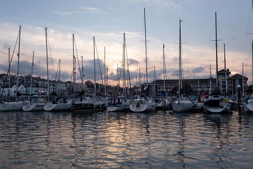 Last Rays on the Marina …