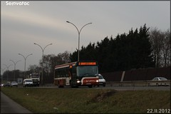 Irisbus Agora S – Setram (Société d'Économie Mixte des TRansports en commun de l'Agglomération Mancelle) n°614