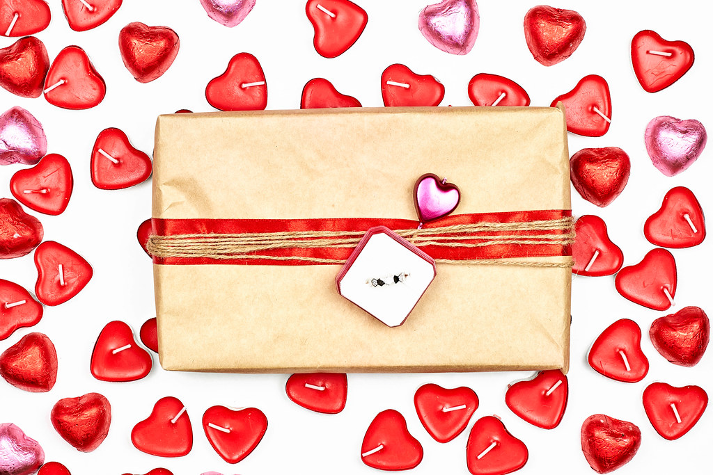 A romantic gift for Saint Valentine's day