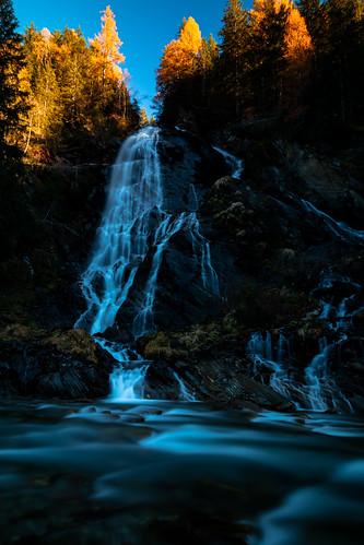 Haslacher Schleierwasserfall - Osttirol - Österreich
