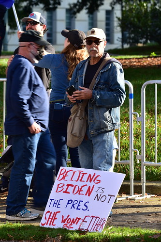 State Capitol Protest in Raleigh (2020 Nov)