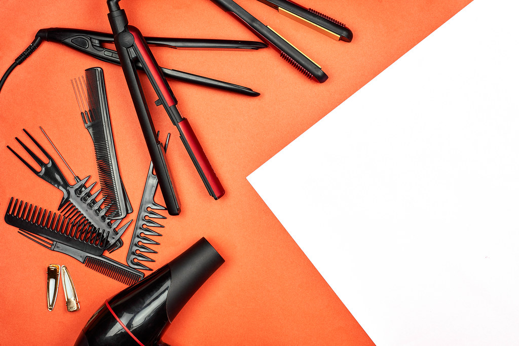 Devices and tools for hair styling