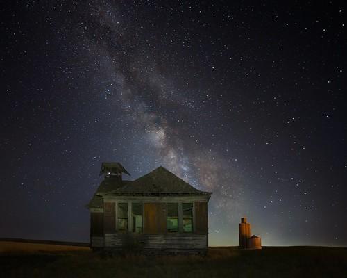 Abandoned School Milky Way 1484 C (Explored)