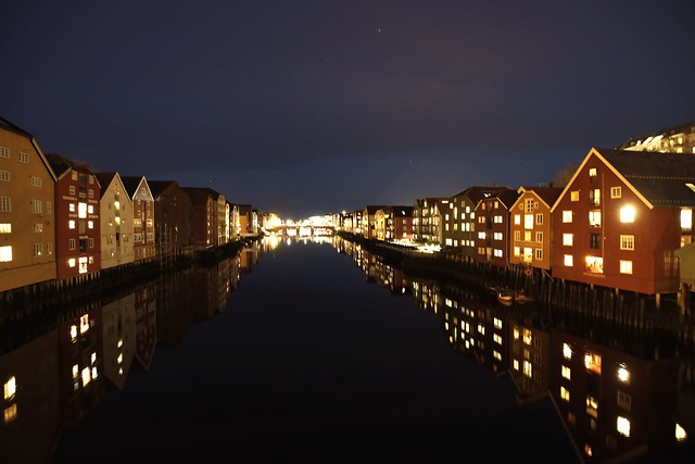 Afternoon by Nidelven (Trondheim)