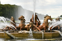 Château de Versailles: bassin d'Apollon
