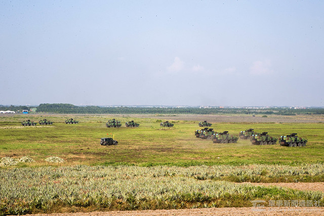 戰備任務訓練週第四作戰區戰術機動、民物力動員20201102