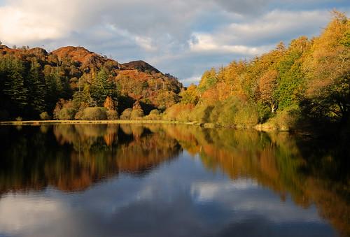 Autumn Reflections at Yew Tree Tarn